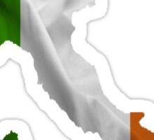 Irish in Italy Sticker