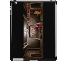 You're not supposed to be in here! (Monkey Island 2) iPad Case/Skin
