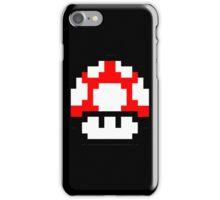 Mushroom 8 Bit  iPhone Case/Skin