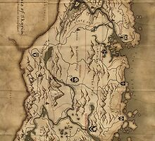 Skyrim Map Case by skuldugg77
