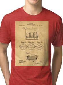Home Canning Jar Patent 1898 Tri-blend T-Shirt