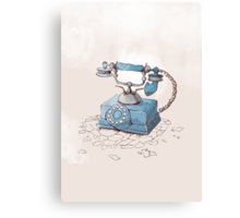 Old Telephone Canvas Print