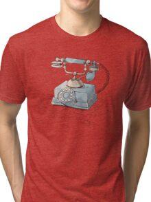 Old Telephone Tri-blend T-Shirt