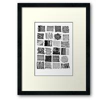 Mark Making Framed Print