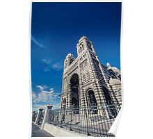 Marseille Cathedral Poster