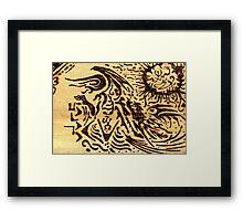 KUTULU Framed Print