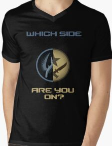 CSGO-Which side are you on?-Straight Mens V-Neck T-Shirt