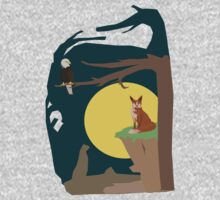 Silence Night by the Fox and the Eagle Kids Clothes