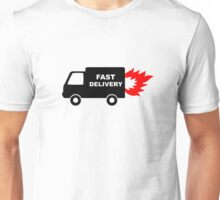 Fast Delivery Van Unisex T-Shirt