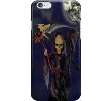 Death in the dark iPhone Case/Skin