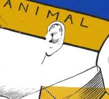 The Human Animal Divide. Sticker