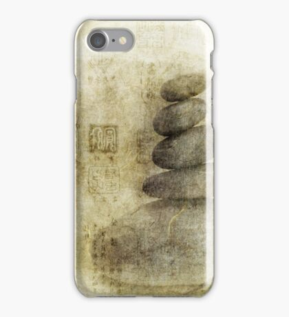 Stone Meditation iPhone Case/Skin