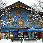 It's snowing in Garmisch Partenkirchen - Germany by Arie Koene