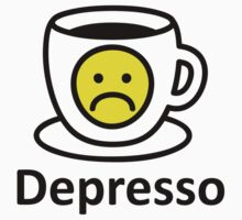 Depresso in the Morning Baby Tee