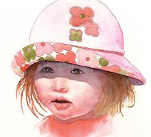 Girl in Hat by Ray Shuell