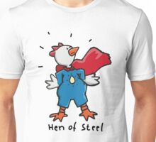 Hen of Steel - Superchicken Unisex T-Shirt