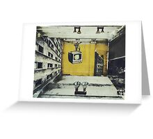 room twenty 7 Greeting Card