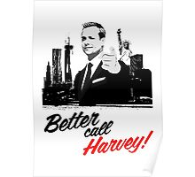Better Call Harvey - Suits Poster
