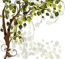 Jungle Swirls And Twirls by mydeas