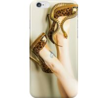 Cold Blooded Heels iPhone Case/Skin