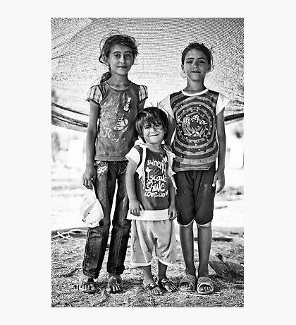 street children Photographic Print