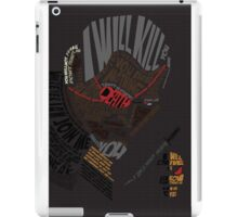 Deathstroke Typography  iPad Case/Skin