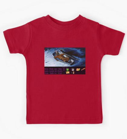 Rapp Scallion the cook (Monkey Island 2) Kids Tee
