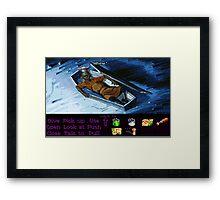 Rapp Scallion the cook (Monkey Island 2) Framed Print
