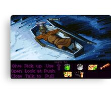 Rapp Scallion the cook (Monkey Island 2) Canvas Print
