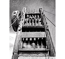 Gold Mine Technology in Black and White Photographic Print