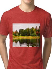 Forest Reflections Tri-blend T-Shirt