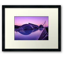 City of Arts and Sciences Framed Print