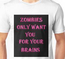 zombie brains Unisex T-Shirt