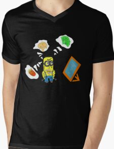 THE MALE MIND  Mens V-Neck T-Shirt