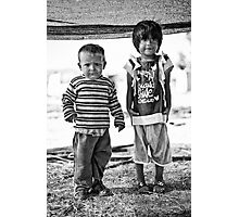 street children Photographic Print