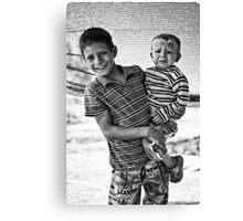 street children Canvas Print
