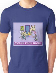 Twerk From Home Miley Cyrus Funny T-Shirt Unisex T-Shirt