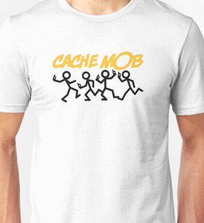 GeoCaching - Cache Mob Unisex T-Shirt
