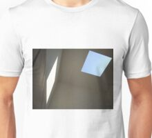 Blue Sky, White Light Unisex T-Shirt