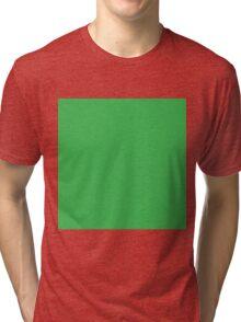 Beanie Greenie  Tri-blend T-Shirt
