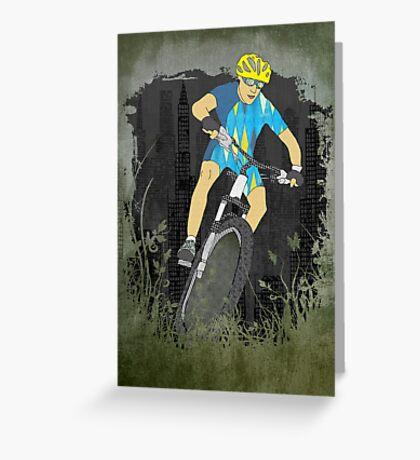 Bicycle Guy Greeting Card