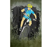 Bicycle Guy Photographic Print