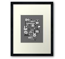 Music Things Framed Print