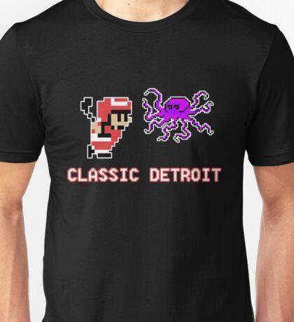 Classic Detroit - 8 Bit - Go Wings! Unisex T-Shirt