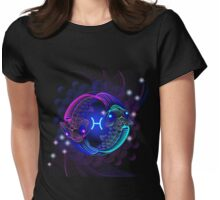 Zodiac Pisces Womens Fitted T-Shirt