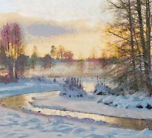Winter river by Mai Shisa