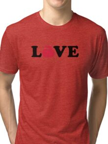 Curling love Tri-blend T-Shirt