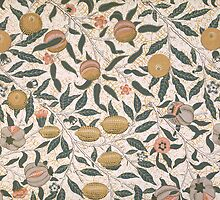 Pomegranate design for wallpaper by Bridgeman Art Library