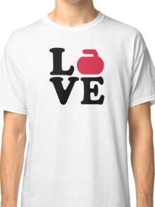 Curling love Classic T-Shirt