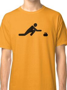 Curling player Classic T-Shirt